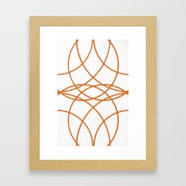 Circles 1 Framed Art Print