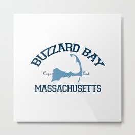 Buzzards Bay. Cape Cod Metal Print