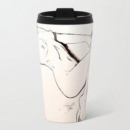 Marilyn Monroe Pin-up Travel Mug