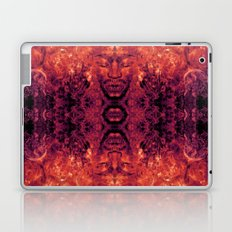 Brother Meditation - red purple Laptop & iPad Skin