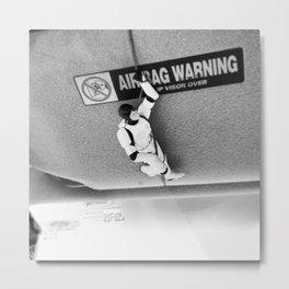 Hang In There Luke Metal Print