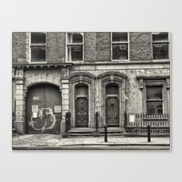 dublin Canvas Prints featuring Dublin by unaciertamirada