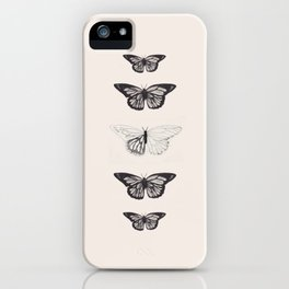 The Butterfly Project iPhone Case