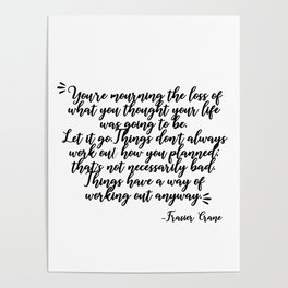 frasier crane-quote Poster