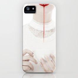 5 o'clock bloody tea iPhone Case