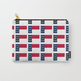 flag of  north carolina 2- south,america,usa,Old North State,Tar Heel,North Carolinian,Charlotte Carry-All Pouch