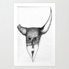 Horn Art Print