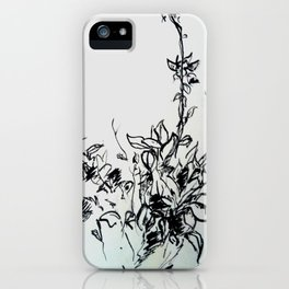 Lonely Bud iPhone Case