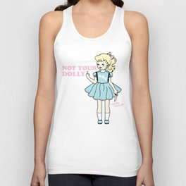Not Your Dolly Unisex Tank Top