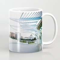 milwaukee Mugs featuring Milwaukee by Andrea Coan