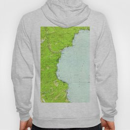 Vintage Map of Tahoe California (1955) Hoody