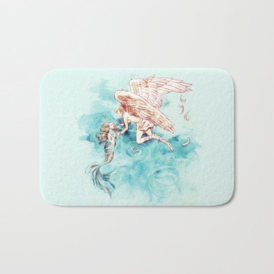 Star-cross'd Lovers Bath Mat