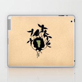 Vermont - State Papercut Print Laptop & iPad Skin