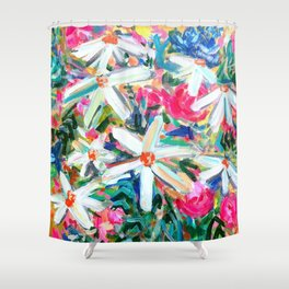 Feel Good Flowers! Shower Curtain