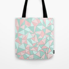 Ab Out Mint and Blush Tote Bag