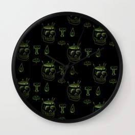 Happy Supplies - Lime & Black Wall Clock