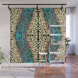 Color Chip Diamond Abstract Pattern Wall Mural