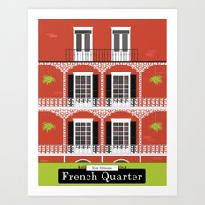 The French Quarter  New Orleans Art Print