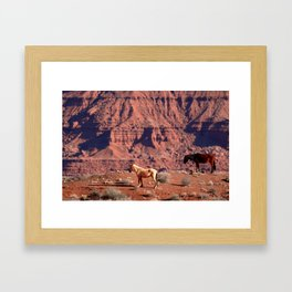 Once Upon a Western Dream Framed Art Print