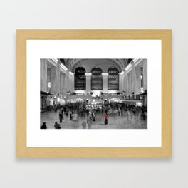 Grand Central Station - New York Photography Framed Art Print