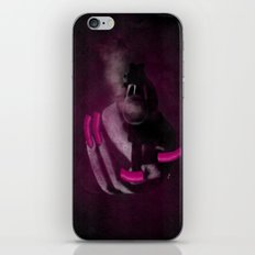 Bang Bang Gun Smoke  Pink Grunge Nails  iPhone & iPod Skin