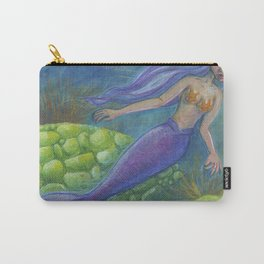 The Mermaid and The Turtles Carry-All Pouch