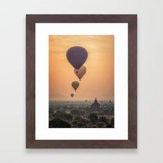 adventures in Asia Framed Art Print