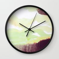 outdoor Wall Clocks featuring OUTDOOR PLAYGROUND by u t a