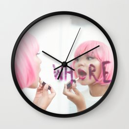 Wh re Wall Clock