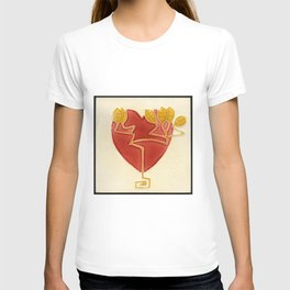 Art Nouveau Heart T-shirt