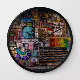 Post Alley Wall Clock