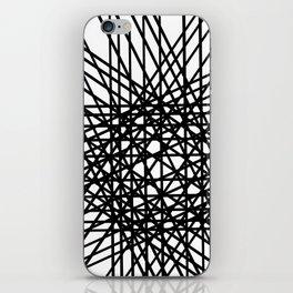 Grid Line Bulge iPhone Skin