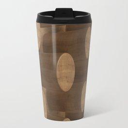 Wood with cylinders Travel Mug