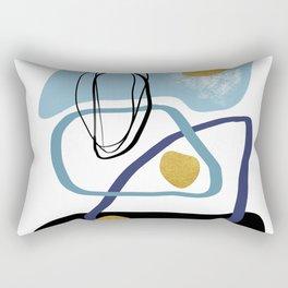 Modern minimal forms 10 Rectangular Pillow