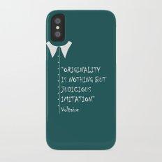 QUOTE-5 iPhone X Slim Case