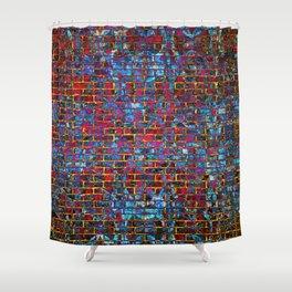 Grunge Wall One Shower Curtain