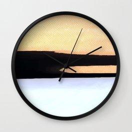 Stroke #1 Wall Clock