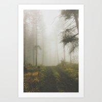 fog Art Prints featuring Fog by Luke Gram
