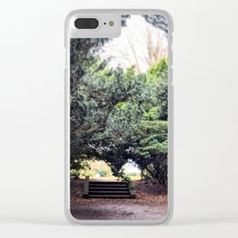 Stairs Leading to Nowhere Clear iPhone Case