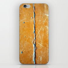 yellow wood iPhone & iPod Skin