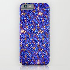 Blue Sub-atomic Lattice Slim Case iPhone 6s