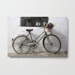 Old bike Metal Print