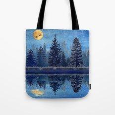 Denim Design Pine Barrens Reflection Tote Bag