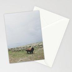 Hillside Bison Stationery Cards
