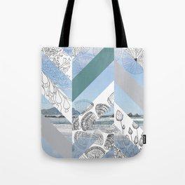 Decor NATion - Chevron Beach Tote Bag