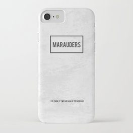 The Marauders iPhone Case