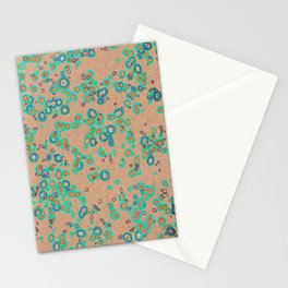 Learning not to worry about Rain Stationery Cards