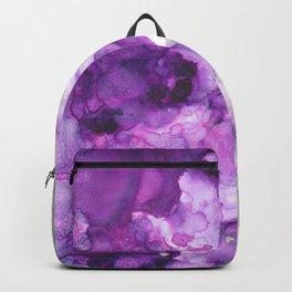 Alcohol Ink Amethysta Backpack