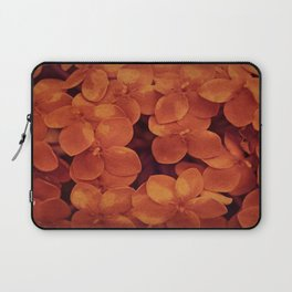 Orange Ixoras II Laptop Sleeve