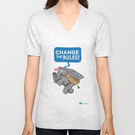 CHANGE The RULES Unisex V-Neck